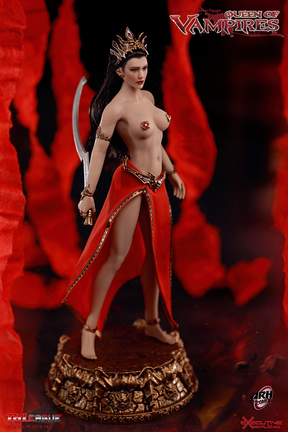 tbleague - NEW PRODUCT: TBLeague: The first 1/12 movable doll - Arkhalla Queen / Bloodsucking Queen (PL2019-142) 19595910