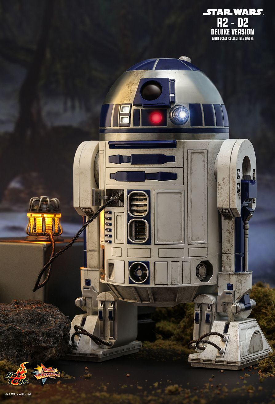 NEW PRODUCT: HOT TOYS: STAR WARS R2-D2 DELUXE VERSION 1/6TH SCALE COLLECTIBLE FIGURE 196