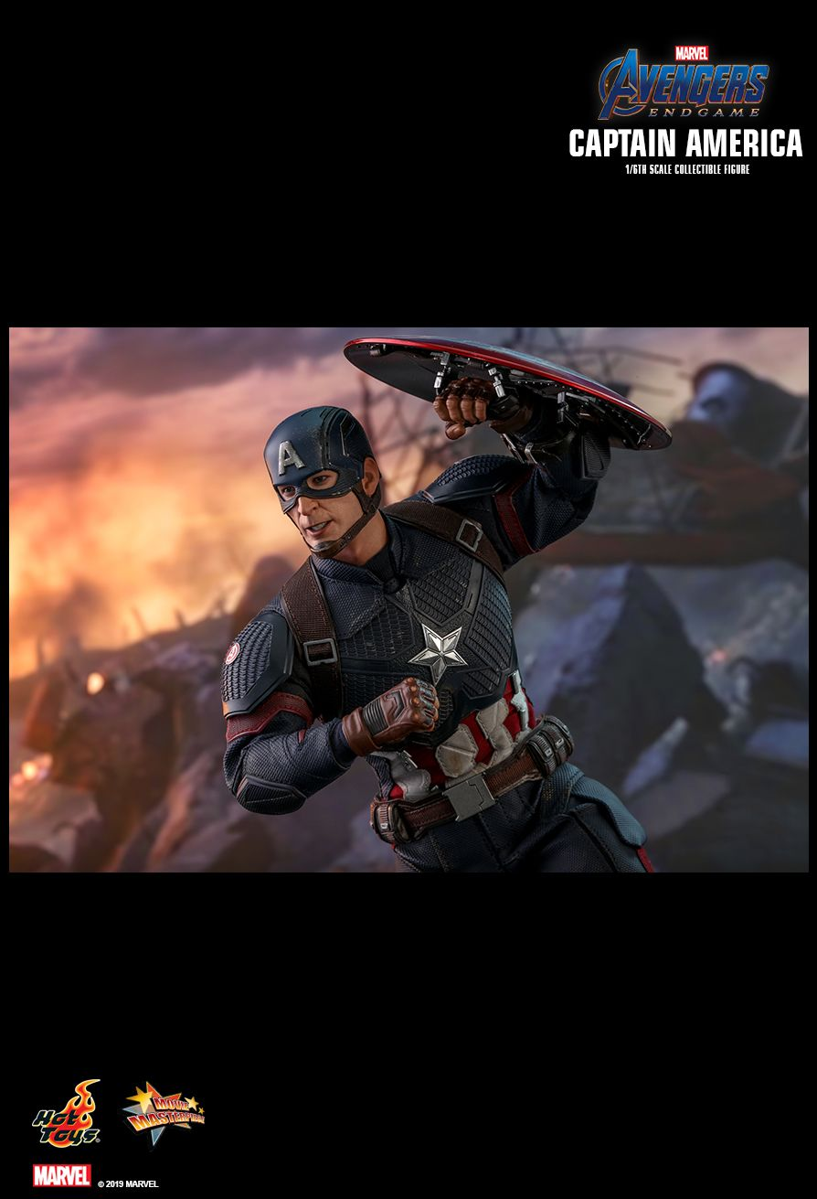 captainamerica - NEW PRODUCT: HOT TOYS: AVENGERS: ENDGAME CAPTAIN AMERICA 1/6TH SCALE COLLECTIBLE FIGURE 1970