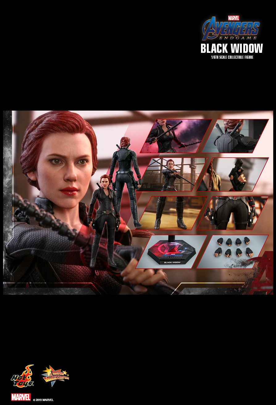 EndGame - NEW PRODUCT: HOT TOYS: AVENGERS: ENDGAME BLACK WIDOW 1/6TH SCALE COLLECTIBLE FIGURE 1971