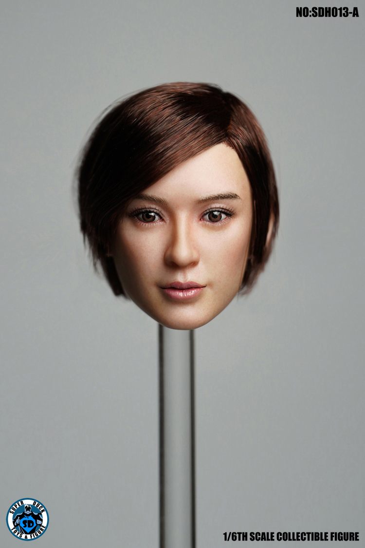superduck - NEW PRODUCT: SUPER DUCK New product: 1/6 SDH013 female head carving - ABC three models 199