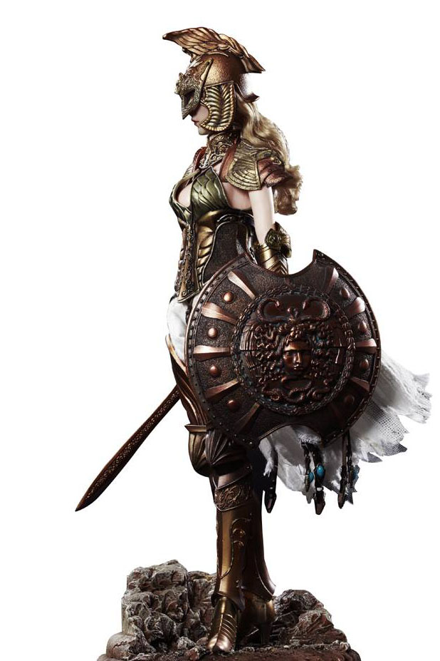 "NEW PRODUCT: COO MODEL X HOMER 1/6th scale PANTHEON Athena Goddess of War 12"" Collectible Figure 1_111"
