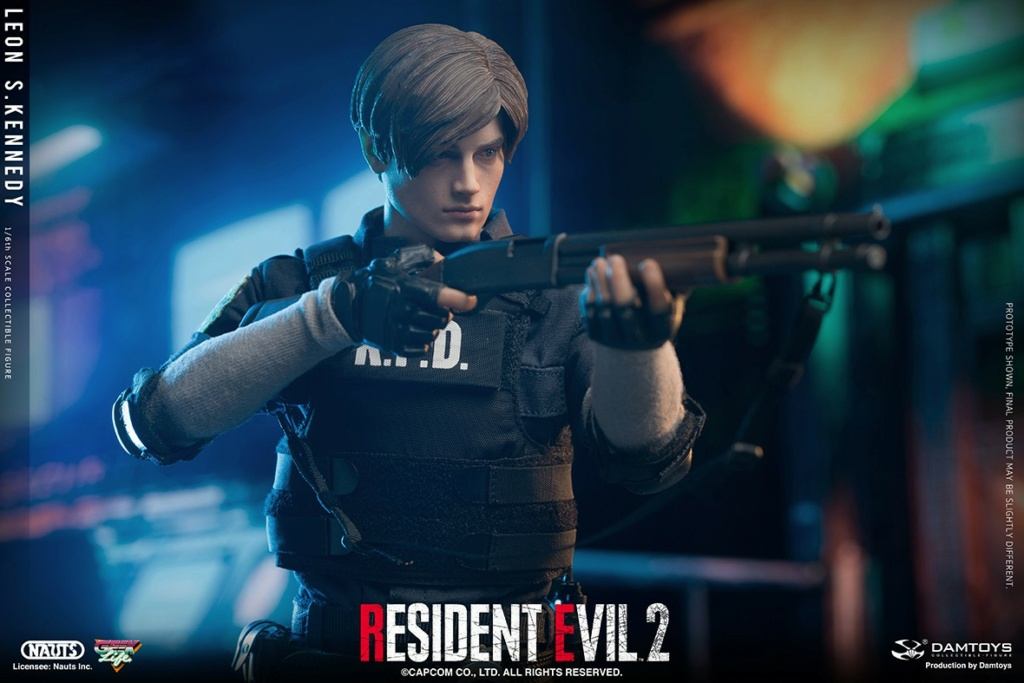 "Sci-Fi - NEW PRODUCT: NAUTS & DAMTOYS: 1/6 ""Resident Evil 2""-LEON S.KENNEDY/Lyon S. Kennedy remake #DMS030  1f71c710"