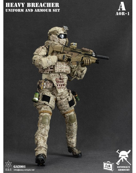 General - NEW PRODUCT: General's Armoury GA2001 1/6 Scale Heavy Breacher Uniform and Armour Set 2-528x11