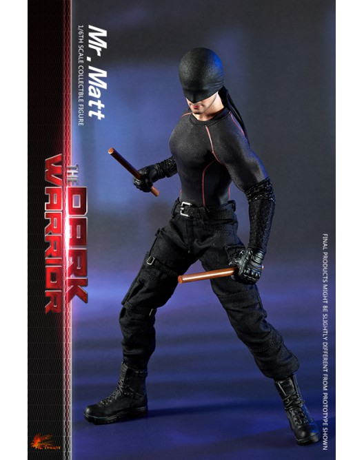 Netflix - NEW PRODUCT: Hot Heart FD007 1/6 Scale The Dark Warrior action figure 2-528x14