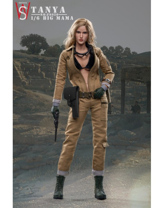 military - NEW PRODUCT: Swtoys FS020 1/6 Scale Big Mama (Tanya) action figure 2-528x17