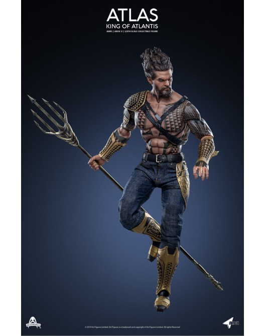 NEW PRODUCT: Art Figure AI-005 1/6 Scale King of Atlantis ATLAS 2-528x22