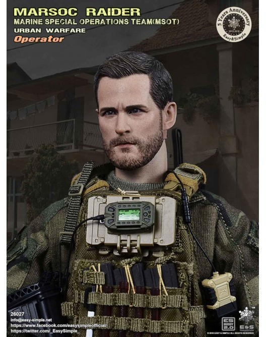 NEW PRODUCT: Easy & Simple 26027 1/6 Scale MARSOC Raider Urban Warfare Operator 20-52810