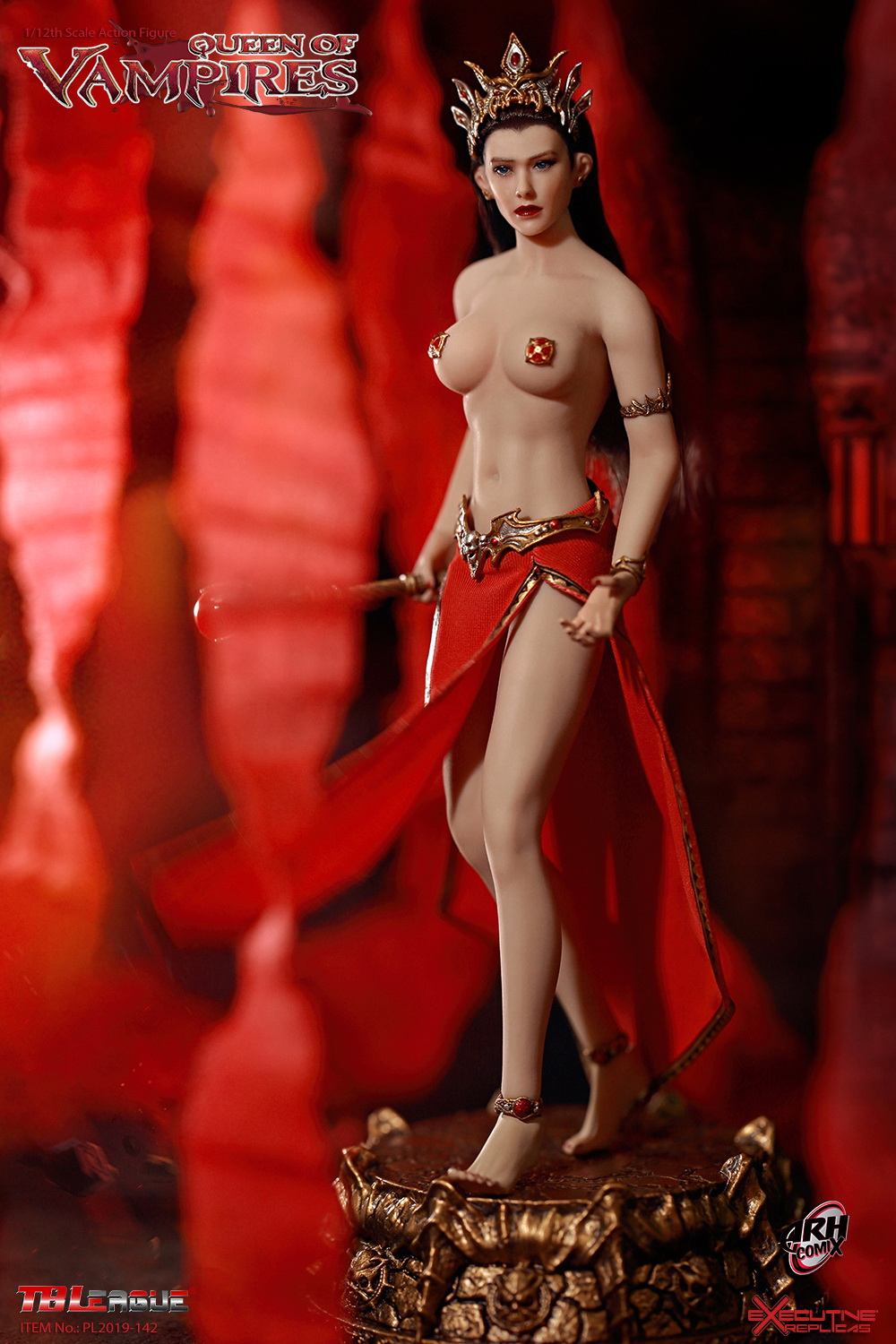 tbleague - NEW PRODUCT: TBLeague: The first 1/12 movable doll - Arkhalla Queen / Bloodsucking Queen (PL2019-142) 20000110