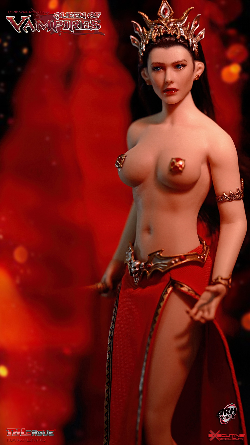 tbleague - NEW PRODUCT: TBLeague: The first 1/12 movable doll - Arkhalla Queen / Bloodsucking Queen (PL2019-142) 20002610