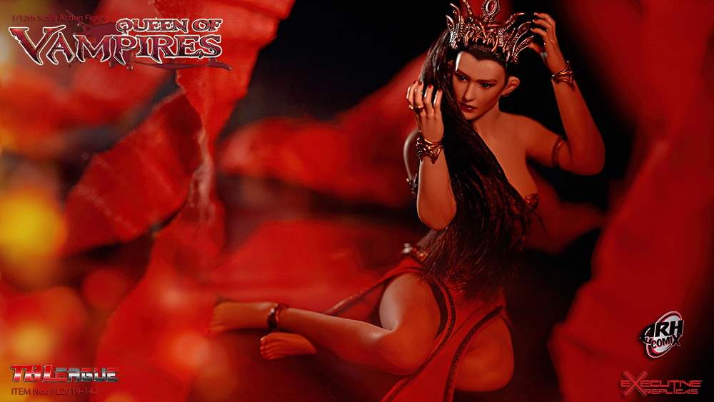 tbleague - NEW PRODUCT: TBLeague: The first 1/12 movable doll - Arkhalla Queen / Bloodsucking Queen (PL2019-142) 20002810