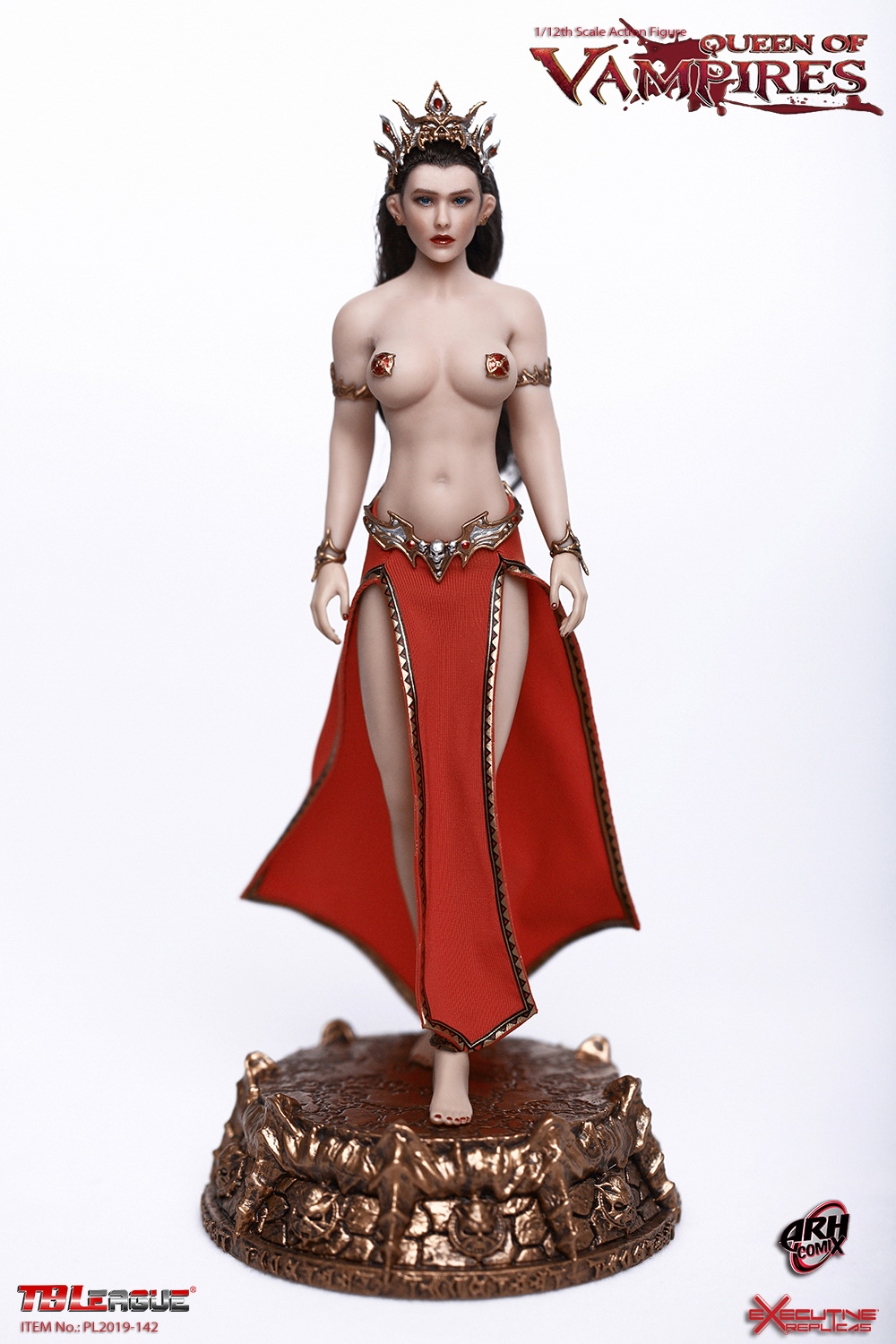 tbleague - NEW PRODUCT: TBLeague: The first 1/12 movable doll - Arkhalla Queen / Bloodsucking Queen (PL2019-142) 20003510