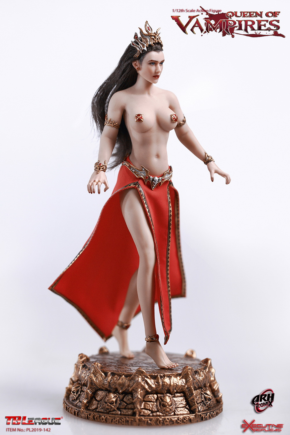 tbleague - NEW PRODUCT: TBLeague: The first 1/12 movable doll - Arkhalla Queen / Bloodsucking Queen (PL2019-142) 20004310