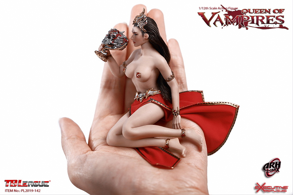 tbleague - NEW PRODUCT: TBLeague: The first 1/12 movable doll - Arkhalla Queen / Bloodsucking Queen (PL2019-142) 20004510