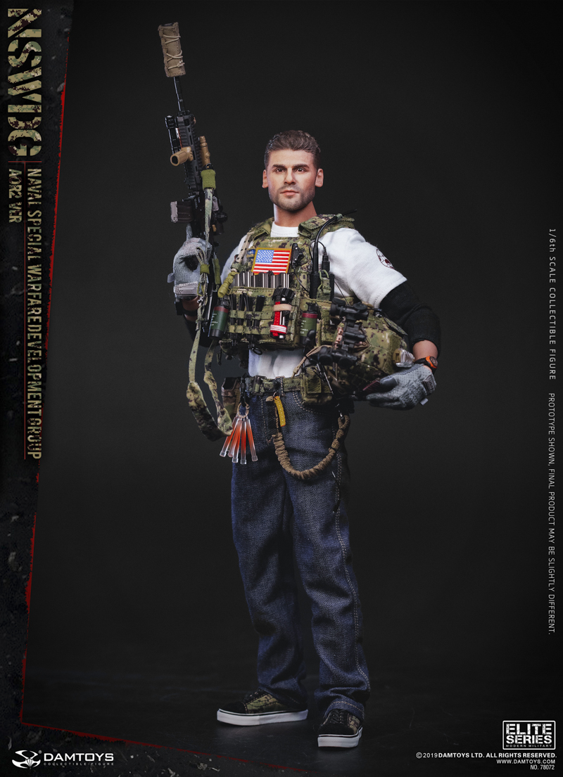modernmilitary - NEW PRODUCT: DAMTOYS: 1/6 US Navy Special Operations Development Group NSWDG-AOR2 camouflage version 78072 # 20025710