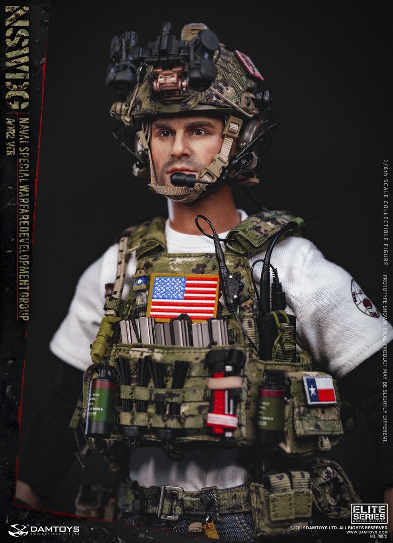 modernmilitary - NEW PRODUCT: DAMTOYS: 1/6 US Navy Special Operations Development Group NSWDG-AOR2 camouflage version 78072 # 20025810