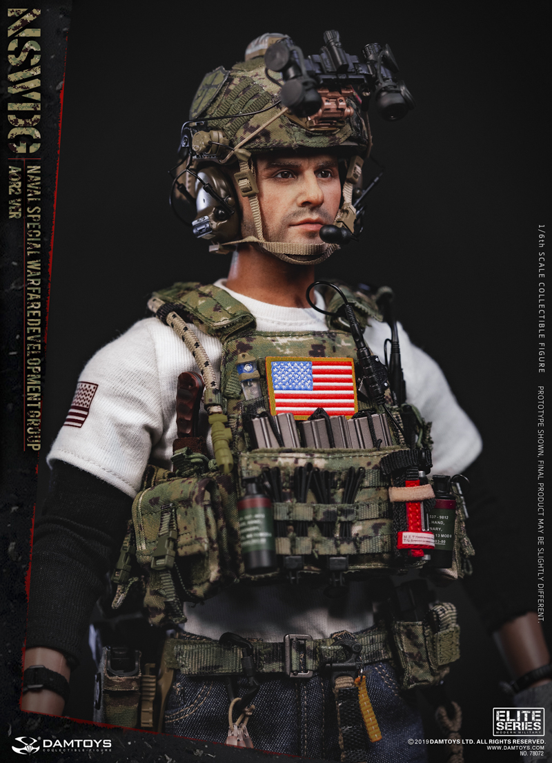 modernmilitary - NEW PRODUCT: DAMTOYS: 1/6 US Navy Special Operations Development Group NSWDG-AOR2 camouflage version 78072 # 20025910