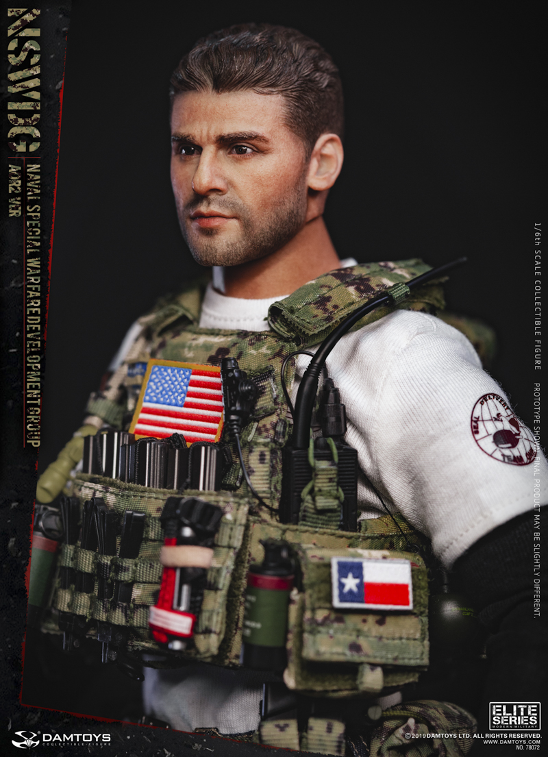 modernmilitary - NEW PRODUCT: DAMTOYS: 1/6 US Navy Special Operations Development Group NSWDG-AOR2 camouflage version 78072 # 20030010