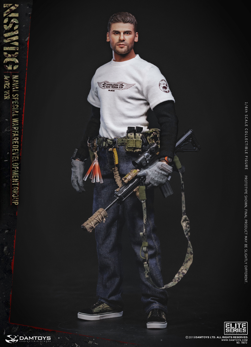 modernmilitary - NEW PRODUCT: DAMTOYS: 1/6 US Navy Special Operations Development Group NSWDG-AOR2 camouflage version 78072 # 20030110