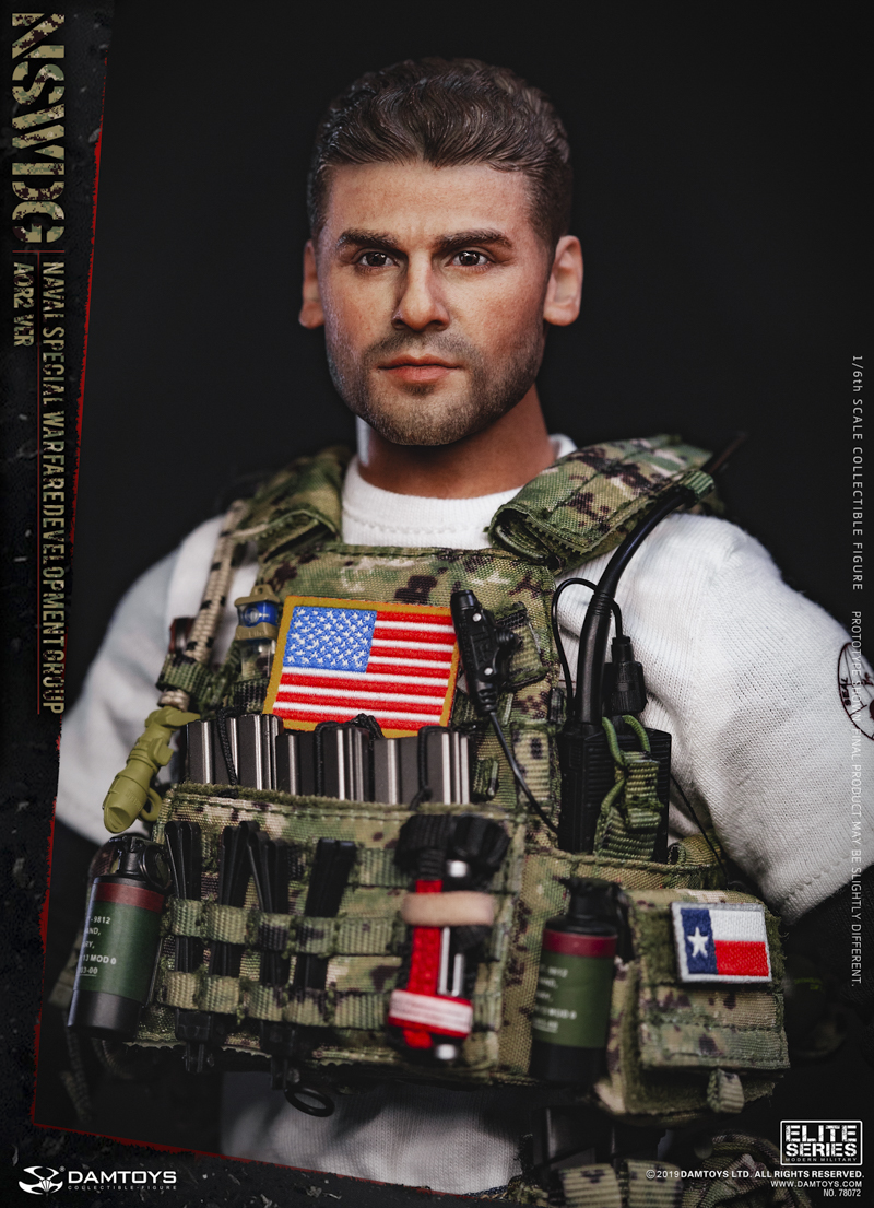 modernmilitary - NEW PRODUCT: DAMTOYS: 1/6 US Navy Special Operations Development Group NSWDG-AOR2 camouflage version 78072 # 20030111