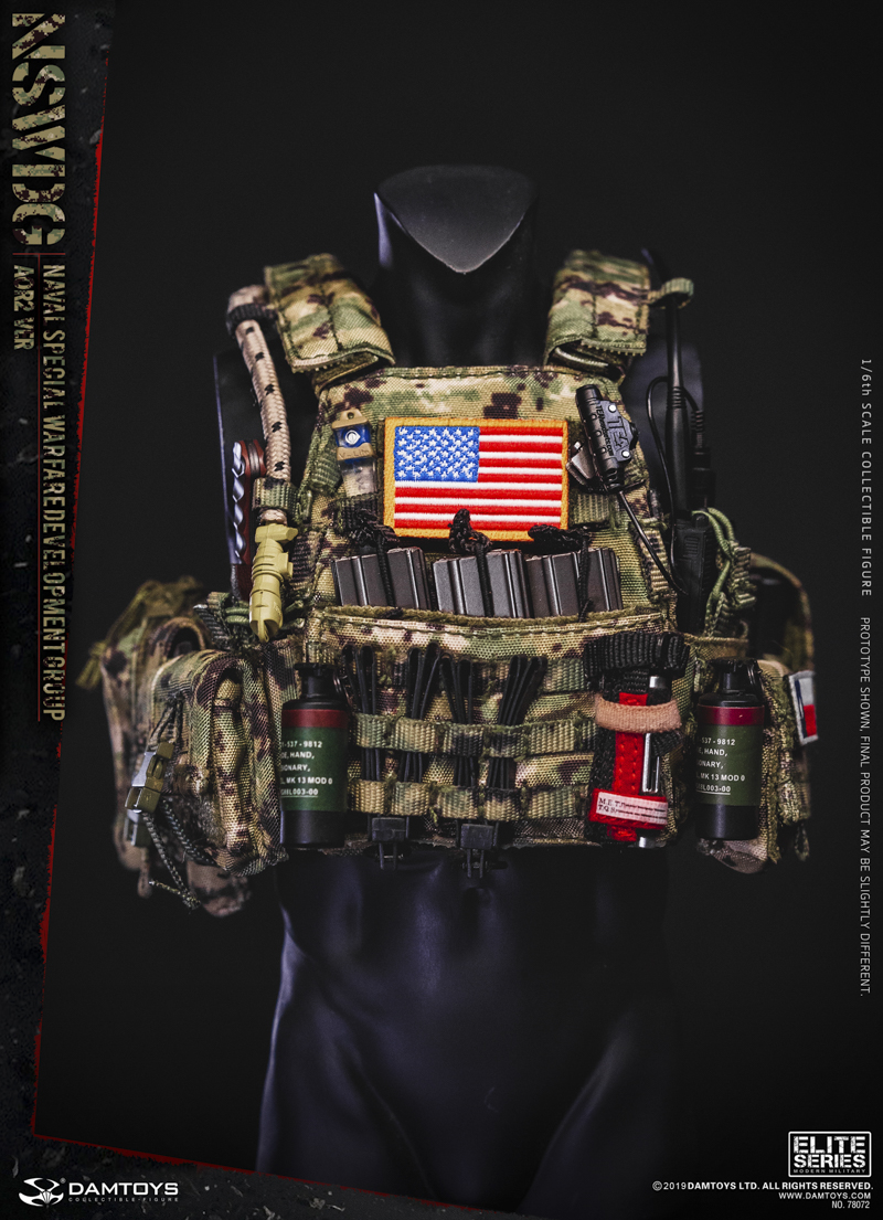 modernmilitary - NEW PRODUCT: DAMTOYS: 1/6 US Navy Special Operations Development Group NSWDG-AOR2 camouflage version 78072 # 20030610