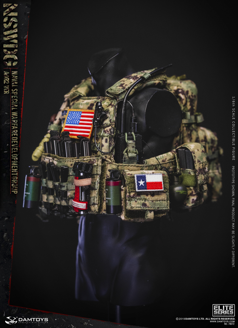 modernmilitary - NEW PRODUCT: DAMTOYS: 1/6 US Navy Special Operations Development Group NSWDG-AOR2 camouflage version 78072 # 20031010