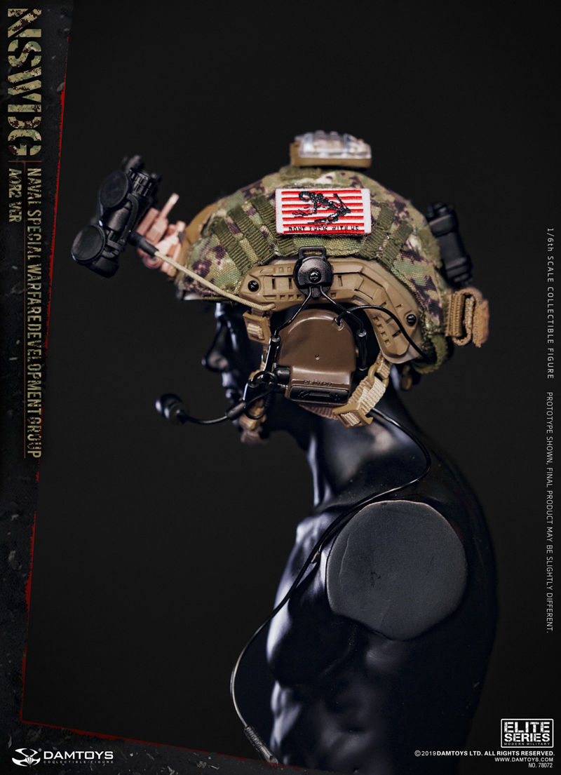 modernmilitary - NEW PRODUCT: DAMTOYS: 1/6 US Navy Special Operations Development Group NSWDG-AOR2 camouflage version 78072 # 20031710