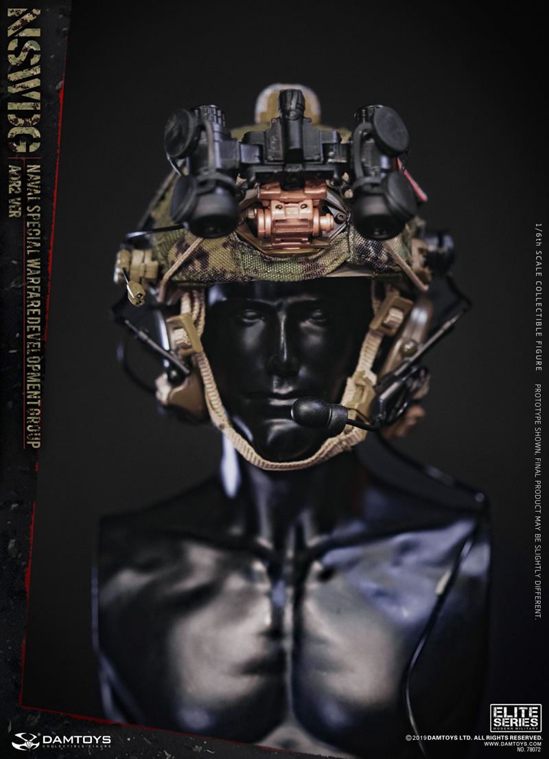 modernmilitary - NEW PRODUCT: DAMTOYS: 1/6 US Navy Special Operations Development Group NSWDG-AOR2 camouflage version 78072 # 20031711