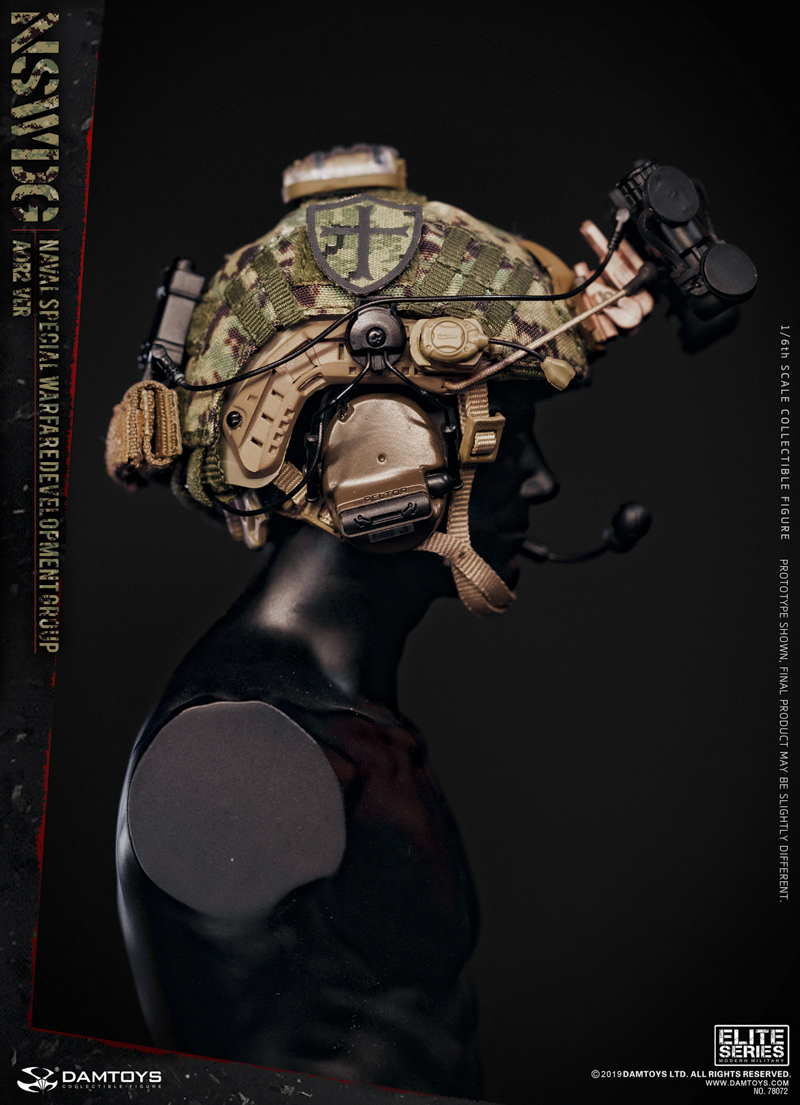 modernmilitary - NEW PRODUCT: DAMTOYS: 1/6 US Navy Special Operations Development Group NSWDG-AOR2 camouflage version 78072 # 20031910