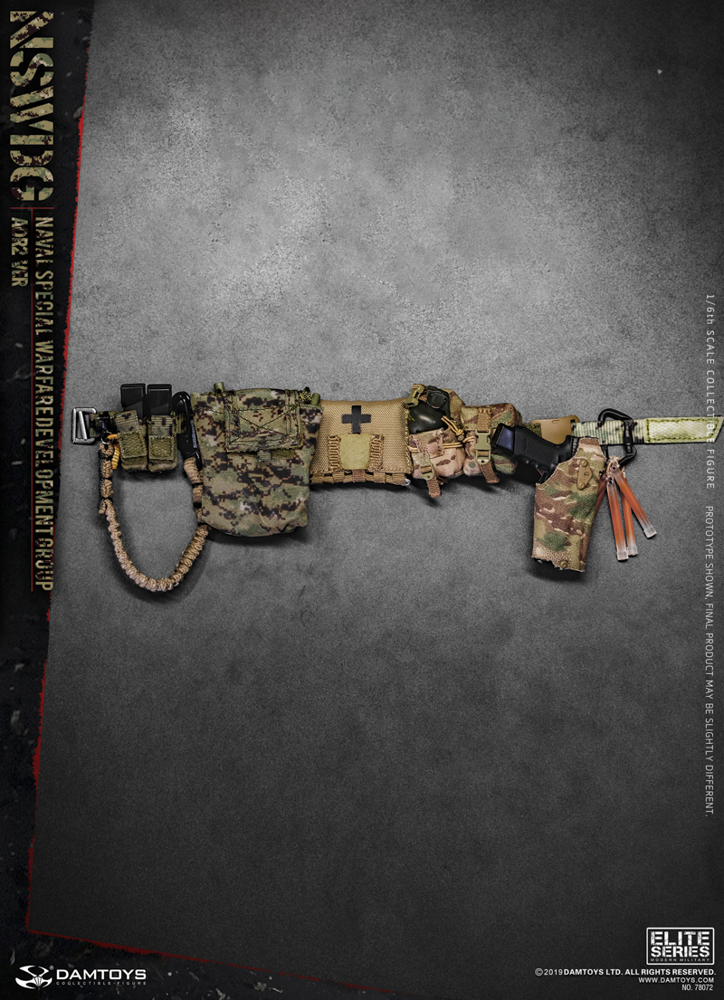 modernmilitary - NEW PRODUCT: DAMTOYS: 1/6 US Navy Special Operations Development Group NSWDG-AOR2 camouflage version 78072 # 20035411