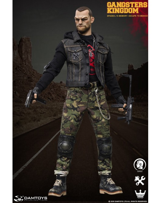 Stylized - NEW PRODUCT: DAMTOYS: 1/6 Scale Gangsters Kingdom SPADES J'S MEMORY-GREG (GK003MX) 20095010