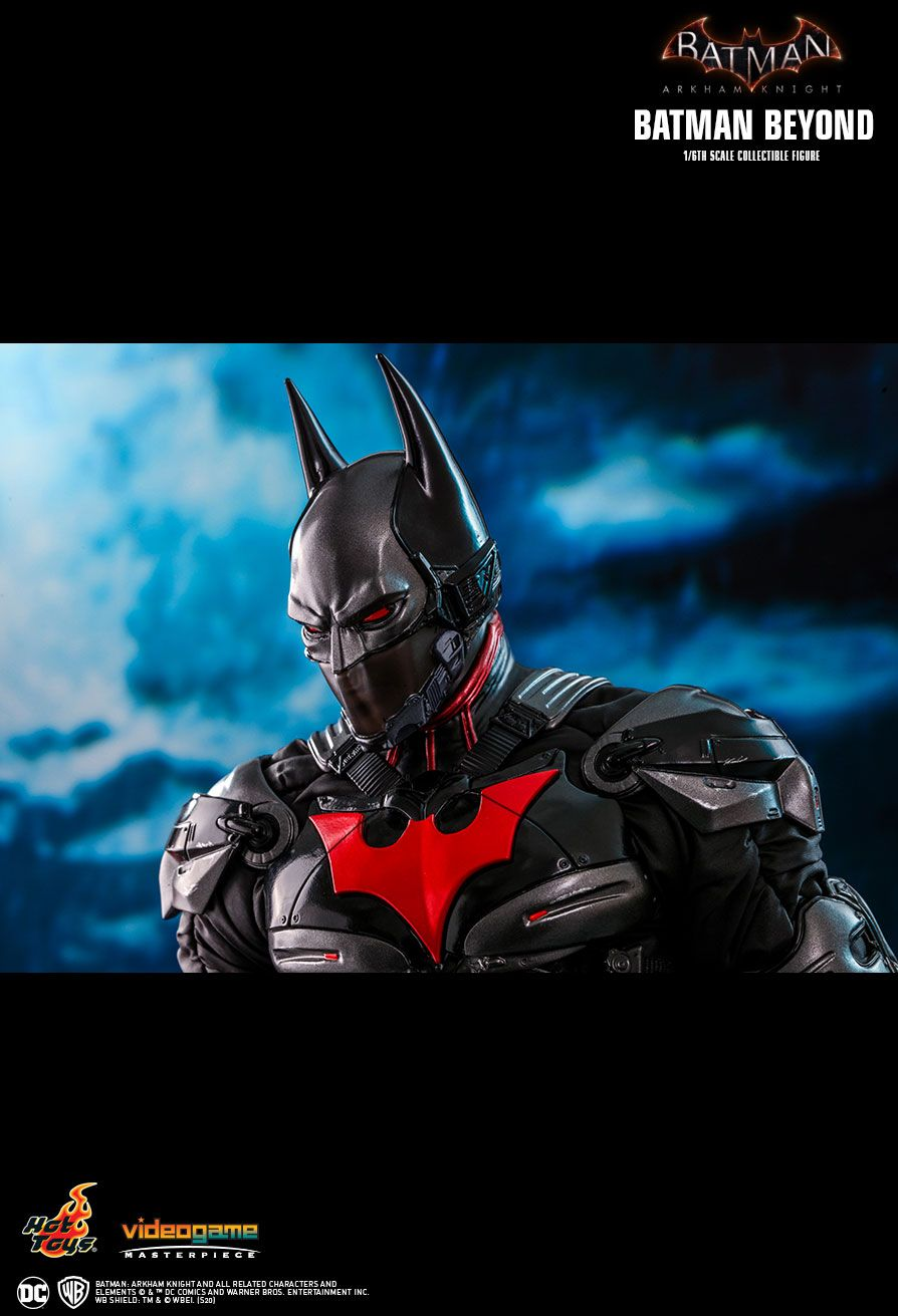 BatmanBeyond - NEW PRODUCT: HOT TOYS: BATMAN: ARKHAM KNIGHT BATMAN BEYOND 1/6TH SCALE COLLECTIBLE FIGURE 20102