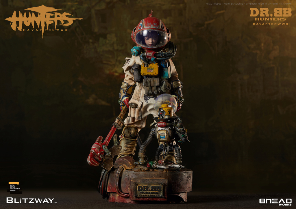 Robot - NEW PRODUCT: Blitzway: 1/6 scale HUNTERS : Day After WWlll: Dr.BB Action Figure 20106