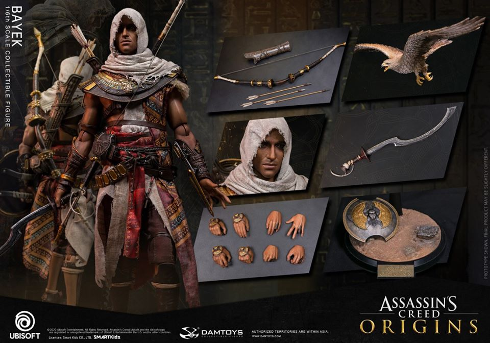 male - NEW PRODUCT: 1/6 DamToys Assassin's Creed Origins - Bayek 1/6 scale figure 20110
