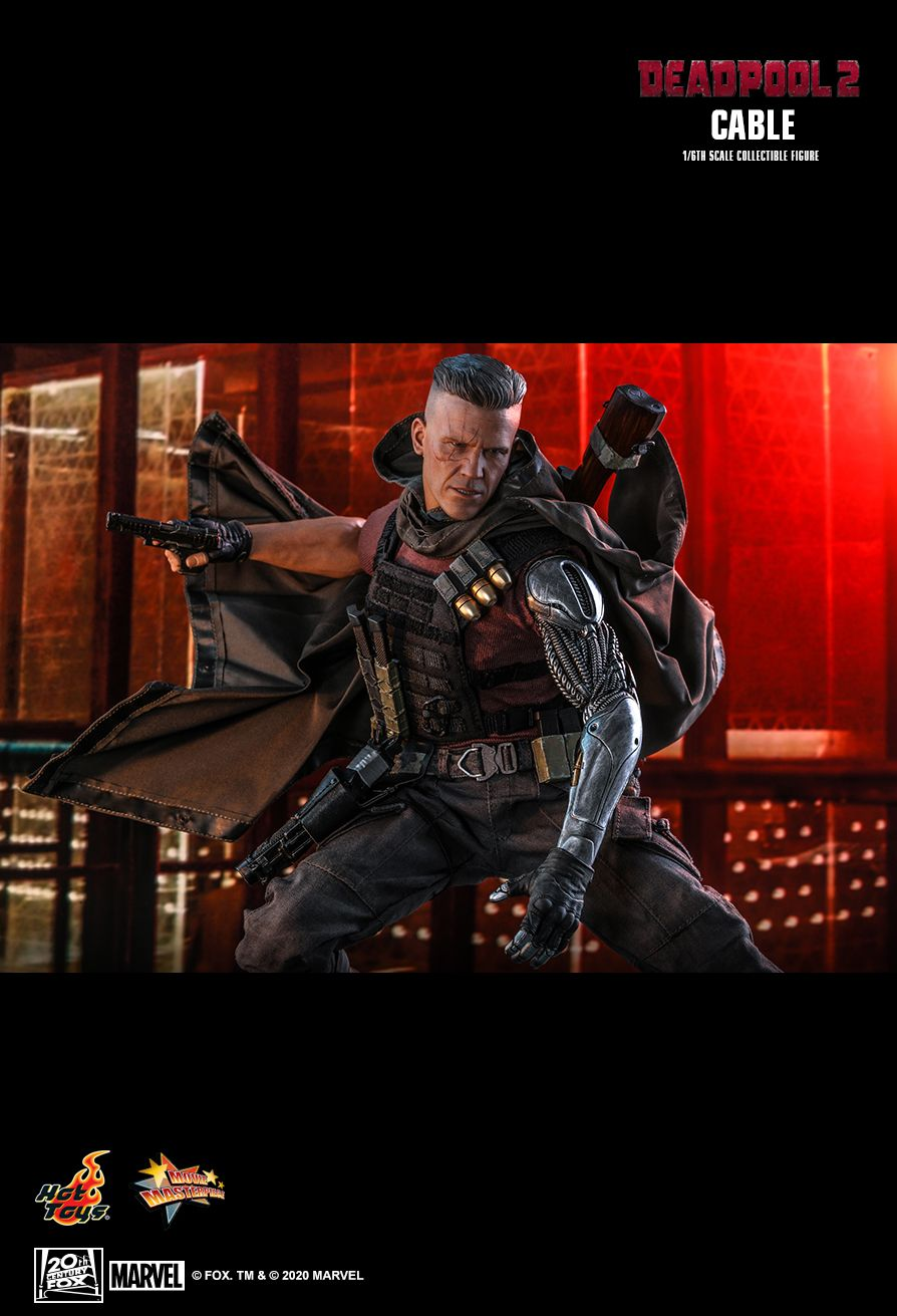 NEW PRODUCT: HOT TOYS: DEADPOOL 2 CABLE 1/6TH SCALE COLLECTIBLE FIGURE 20124