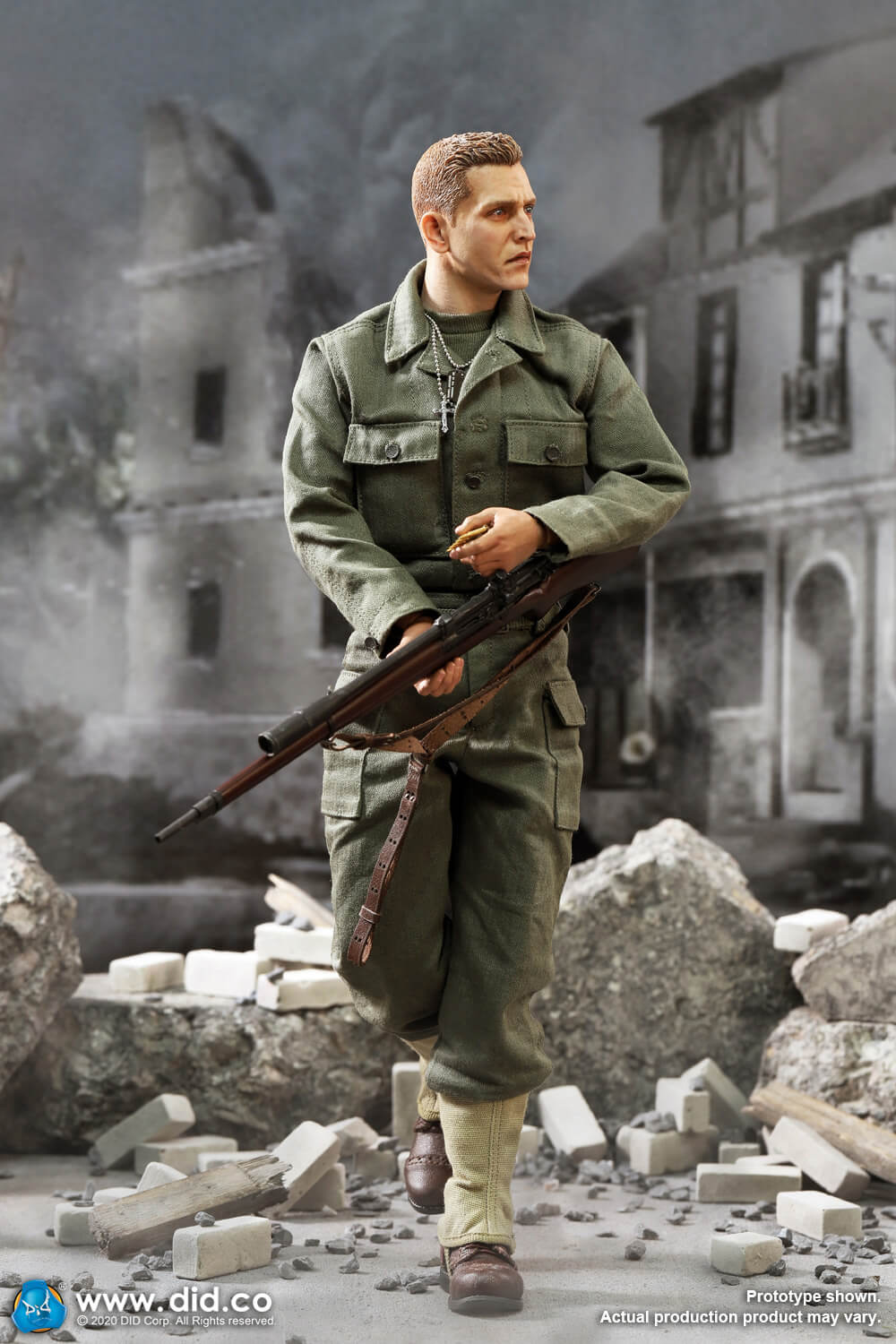 DiD - NEW PRODUCT: DiD: A80144 WWII US 2nd Ranger Battalion Series 4 Private Jackson 20138