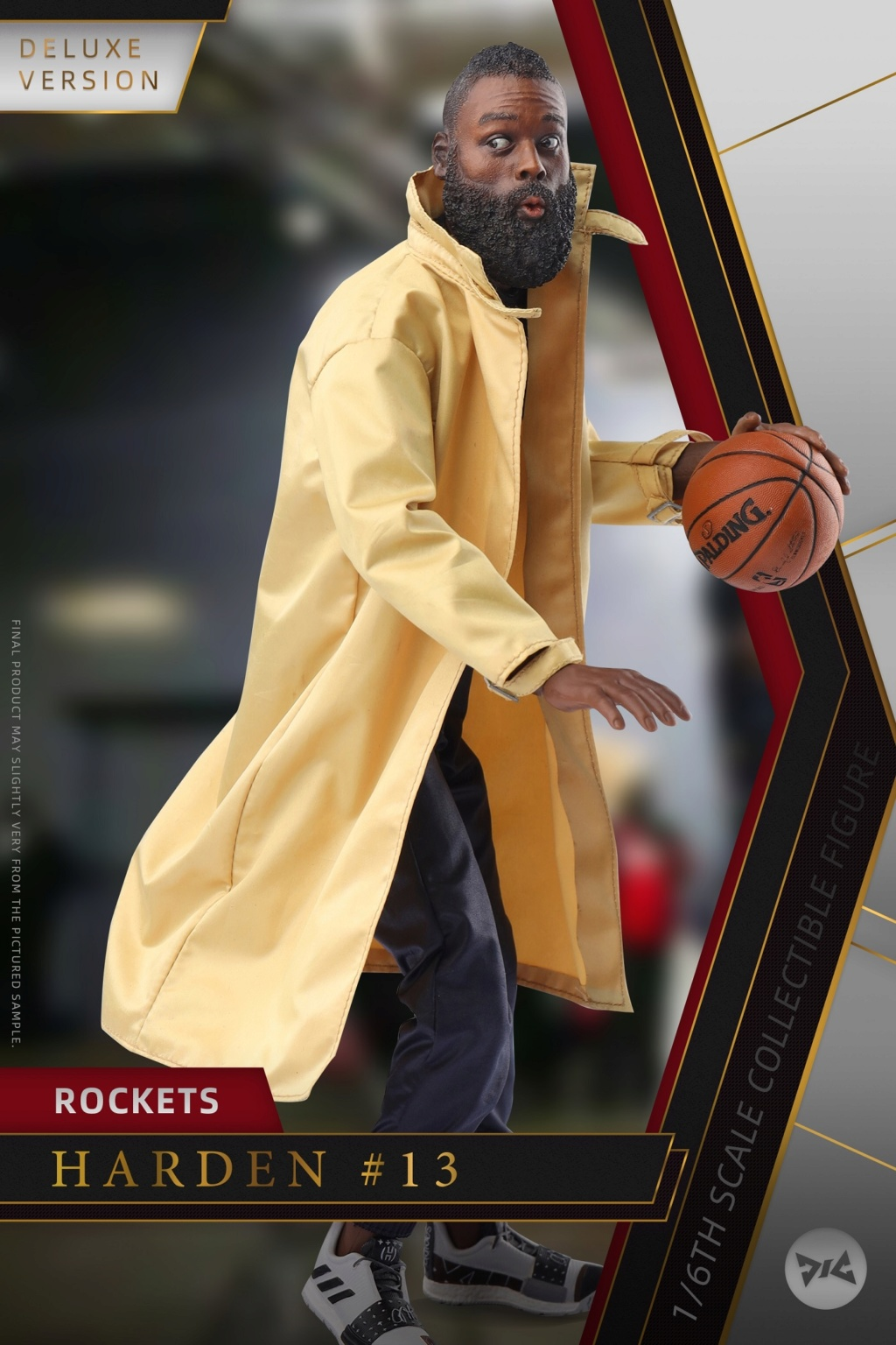 AfricanAmerican - NEW PRODUCT: DJ CUSTOM: 1/6 New Basketball Player Series - Harden (Normal & Deluxe Edition) 20145010