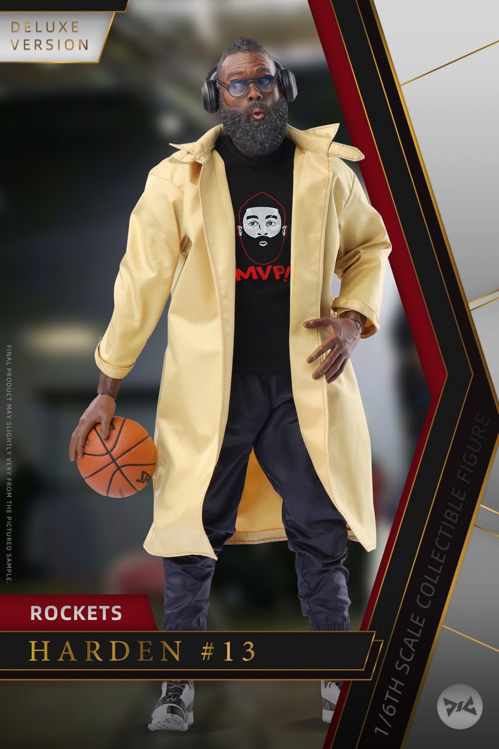 AfricanAmerican - NEW PRODUCT: DJ CUSTOM: 1/6 New Basketball Player Series - Harden (Normal & Deluxe Edition) 20145210
