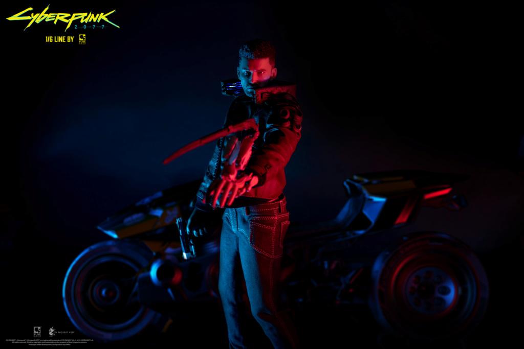 Sci-Fi - NEW PRODUCT: CYBERPUNK 2077: V FEMALE 1/6 ARTICULATED FIGURE (stand alone & with bike) 2020_010