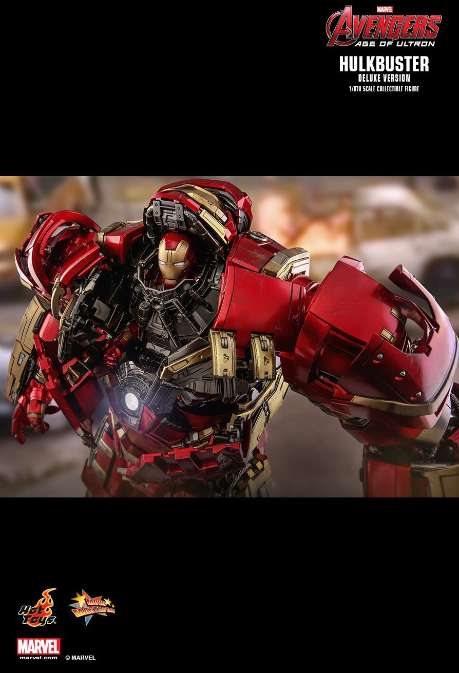 NEW PRODUCT: HOT TOYS: AVENGERS: AGE OF ULTRON HULKBUSTER (DELUXE VERSION) 1/6TH SCALE COLLECTIBLE FIGURE 2023