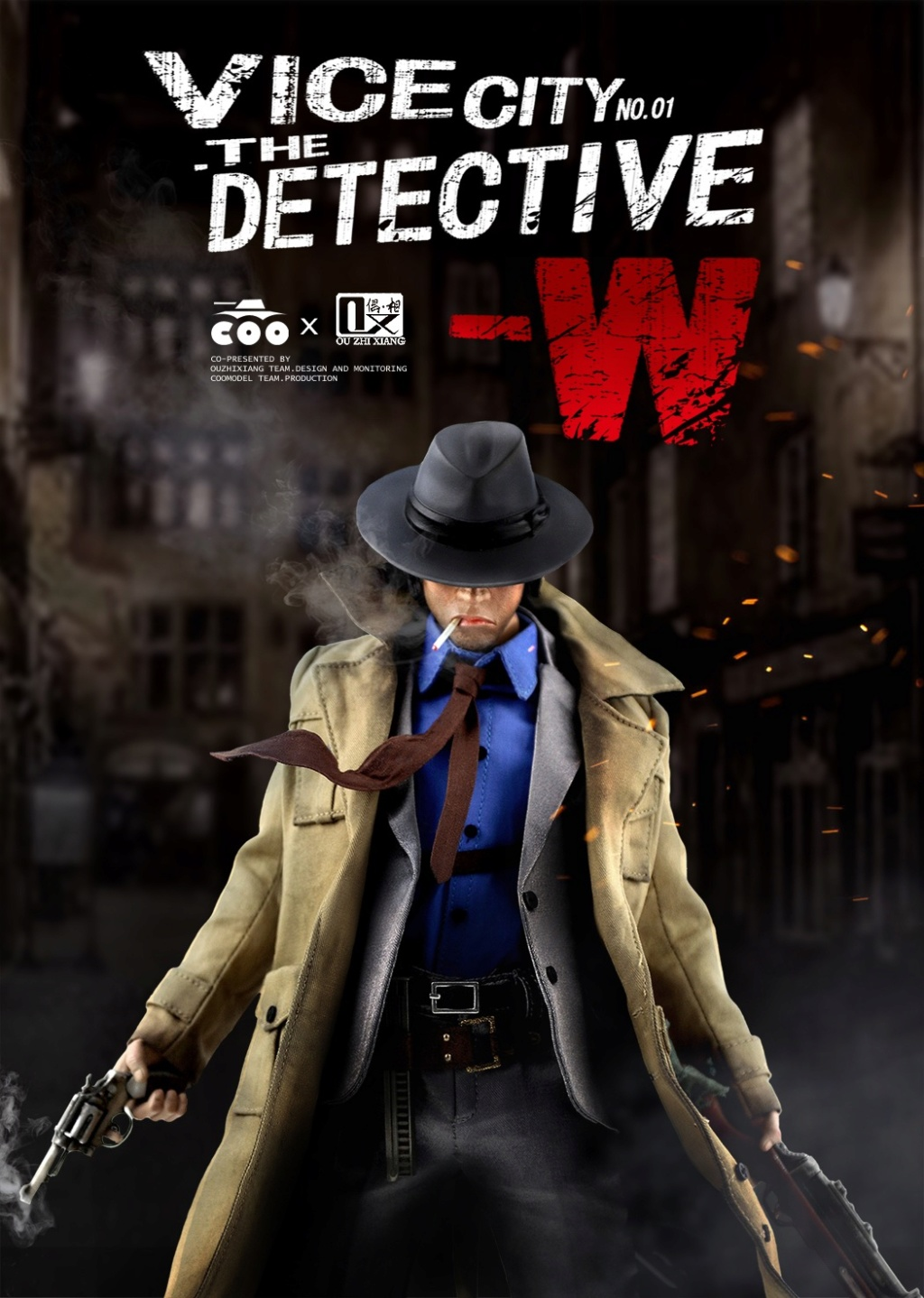 DetectiveW - NEW PRODUCT: COOMODEL X Even: 1/6 Vice City - Detective W [Standard Edition & Collector's Edition] - Four-headed configuration 20251910