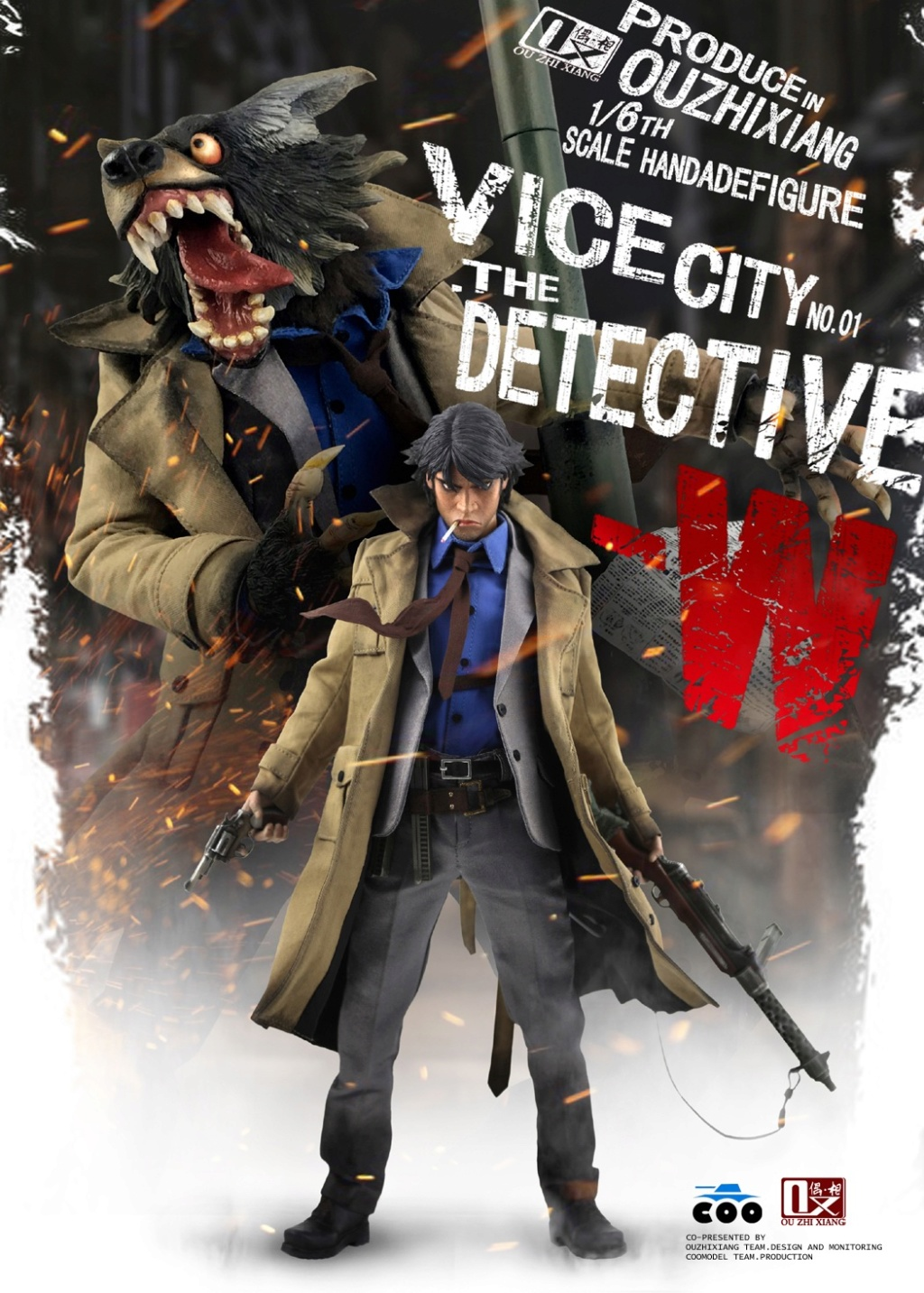 DetectiveW - NEW PRODUCT: COOMODEL X Even: 1/6 Vice City - Detective W [Standard Edition & Collector's Edition] - Four-headed configuration 20252010