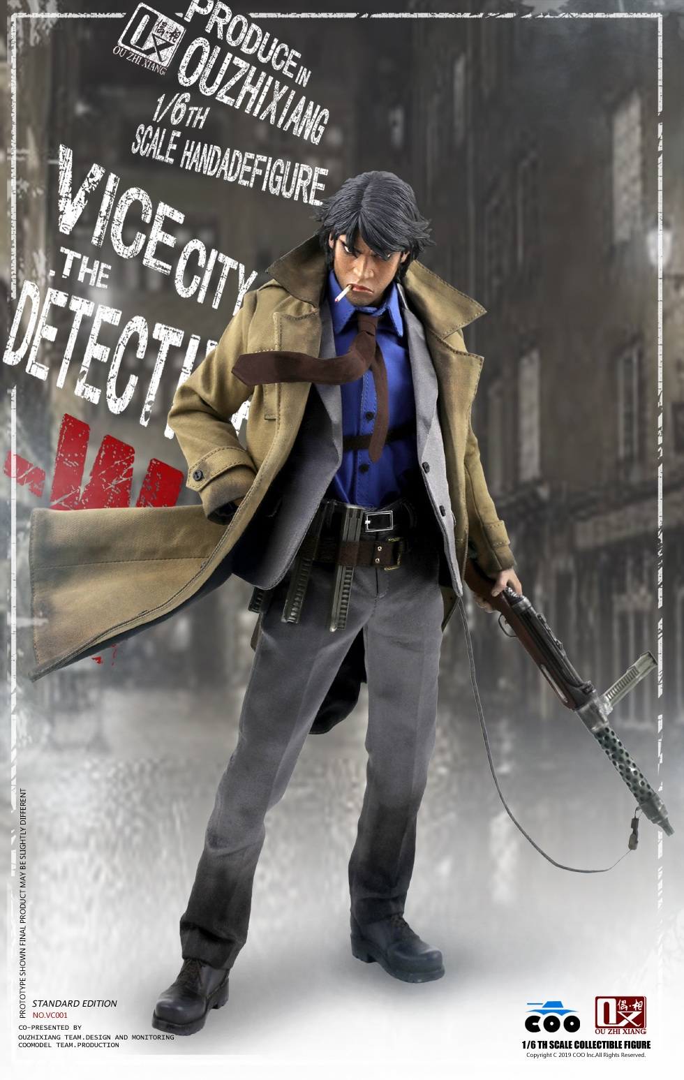 DetectiveW - NEW PRODUCT: COOMODEL X Even: 1/6 Vice City - Detective W [Standard Edition & Collector's Edition] - Four-headed configuration 20261710
