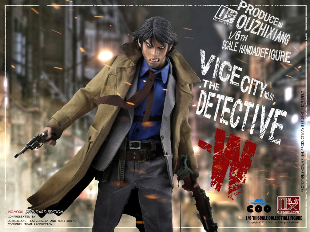 DetectiveW - NEW PRODUCT: COOMODEL X Even: 1/6 Vice City - Detective W [Standard Edition & Collector's Edition] - Four-headed configuration 20261910