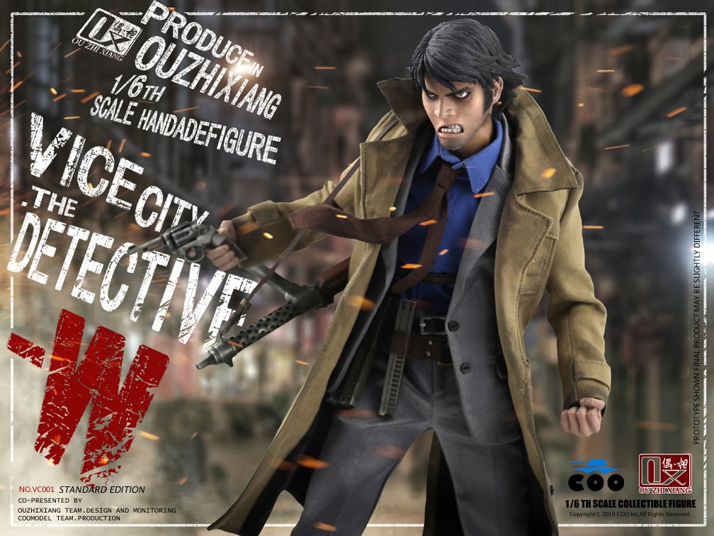 DetectiveW - NEW PRODUCT: COOMODEL X Even: 1/6 Vice City - Detective W [Standard Edition & Collector's Edition] - Four-headed configuration 20262010