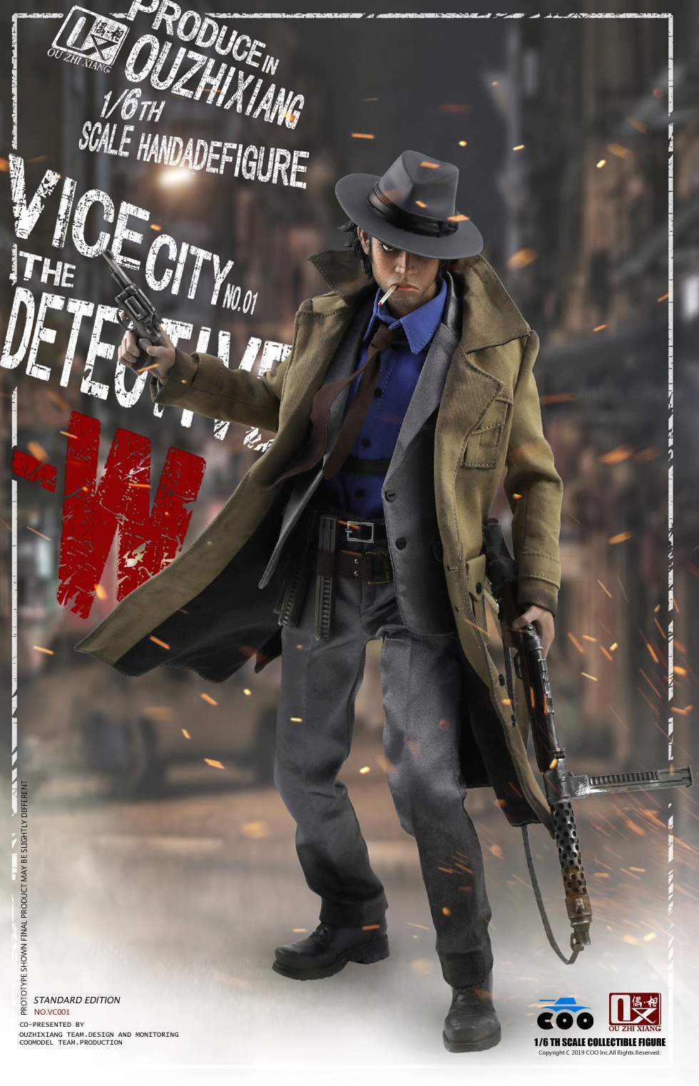 DetectiveW - NEW PRODUCT: COOMODEL X Even: 1/6 Vice City - Detective W [Standard Edition & Collector's Edition] - Four-headed configuration 20262310