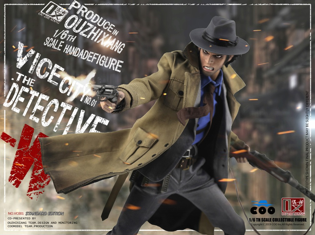 DetectiveW - NEW PRODUCT: COOMODEL X Even: 1/6 Vice City - Detective W [Standard Edition & Collector's Edition] - Four-headed configuration 20262410