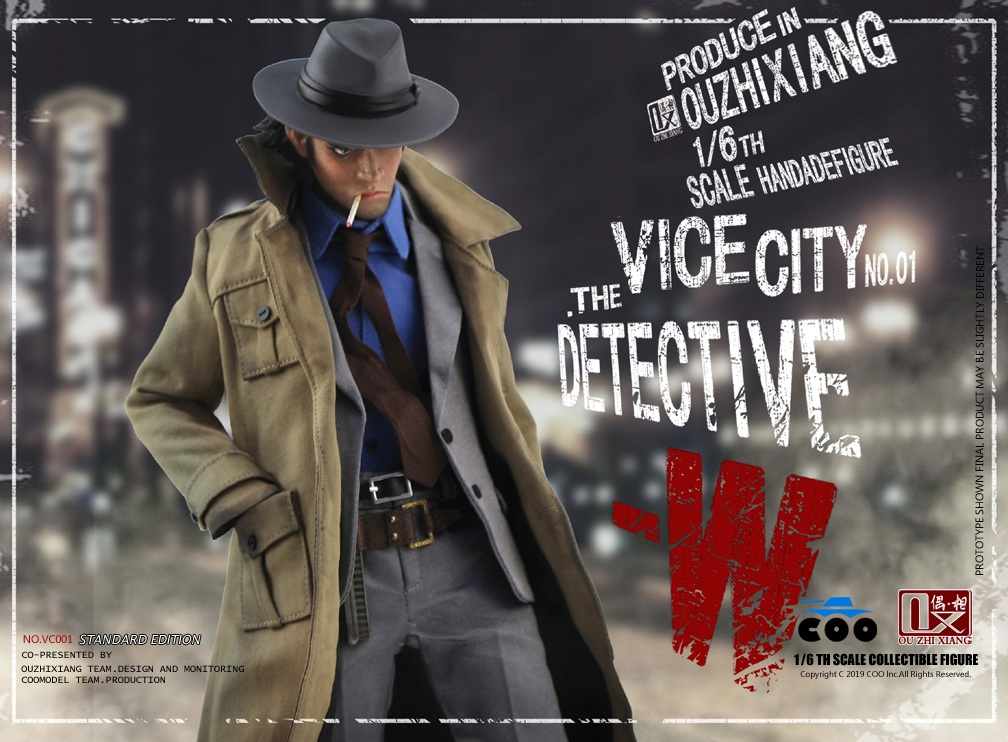 DetectiveW - NEW PRODUCT: COOMODEL X Even: 1/6 Vice City - Detective W [Standard Edition & Collector's Edition] - Four-headed configuration 20262610