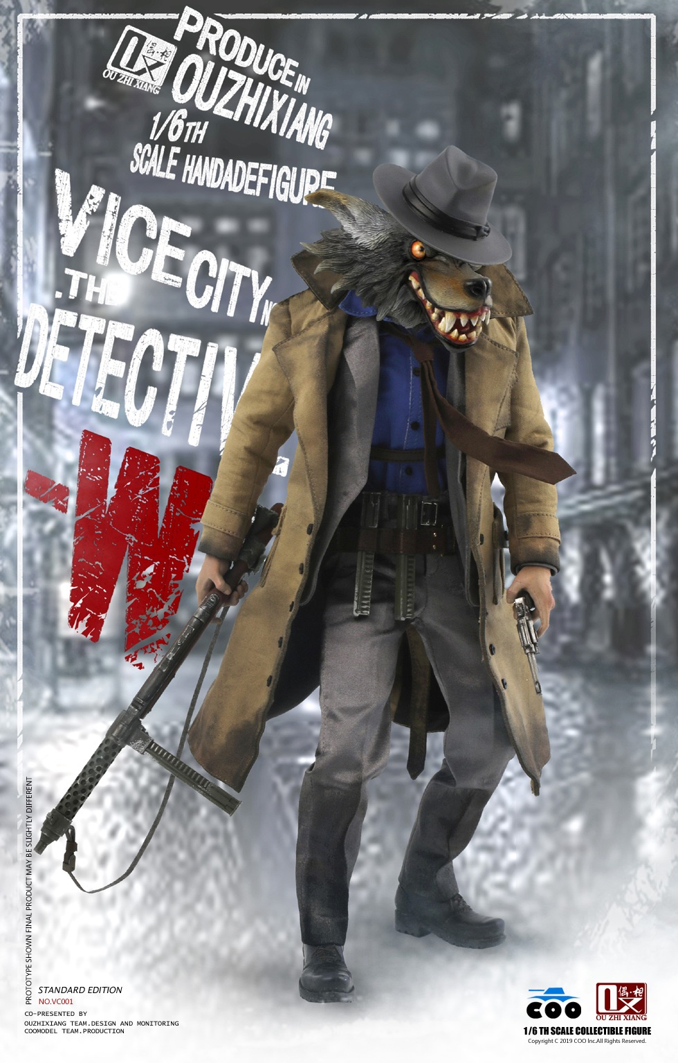 DetectiveW - NEW PRODUCT: COOMODEL X Even: 1/6 Vice City - Detective W [Standard Edition & Collector's Edition] - Four-headed configuration 20262810