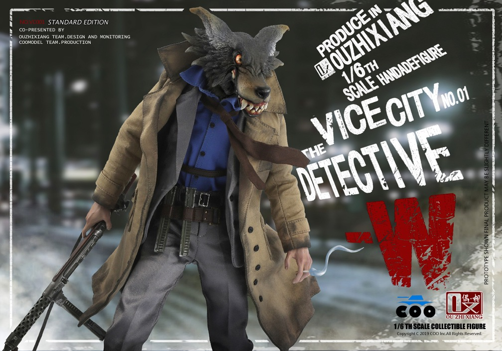 DetectiveW - NEW PRODUCT: COOMODEL X Even: 1/6 Vice City - Detective W [Standard Edition & Collector's Edition] - Four-headed configuration 20262911